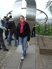 London 2009- Greenwich meridian