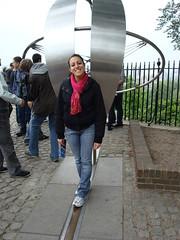 London 2009- Greenwich meridian