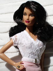 Diane von Furstenberg Close (billygirl19) Tags: dolls designer barbie collection dianevonfurstenberg ravenhair modelmuse