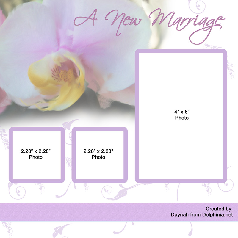 Here are a few samples of my work Orchid Wedding Theme