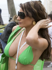Ok, one more of Green Bikini Girl (Michael Zampelli) Tags: