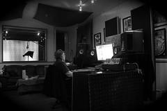Brian Scheuble mixing on Pro Tools at the Village Recorder Studio (Brian A Petersen) Tags: santa music booth studio village brian tools monica yamaha pro production monitors mixing recorder logitech protools vocal krk petersen ns10 scheuble villagerecorder