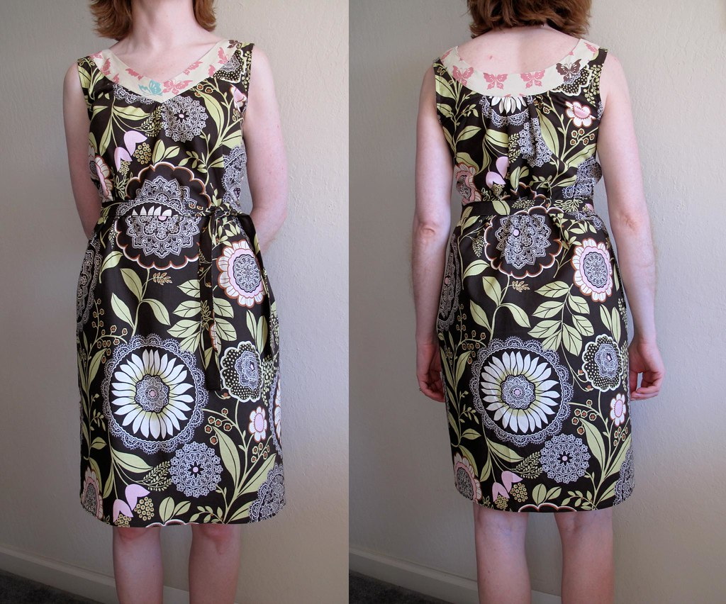 Socialite Dress with pattern belt