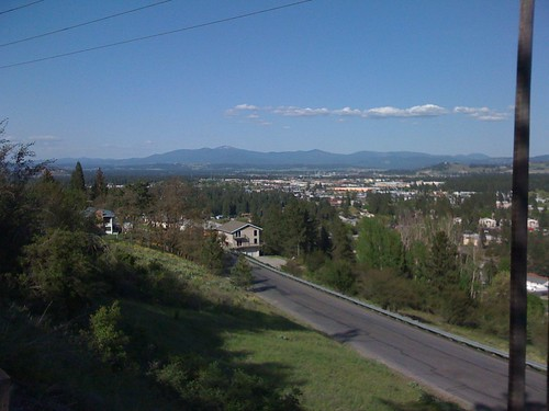 Mt Spokane View