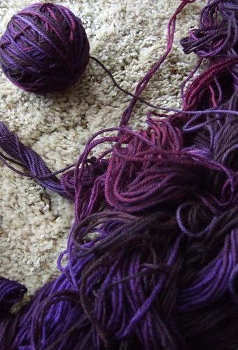 tangled fibreworks