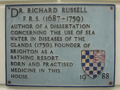 Photo of Richard Russell grey plaque