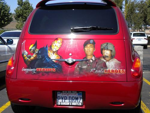 Capt. America Car