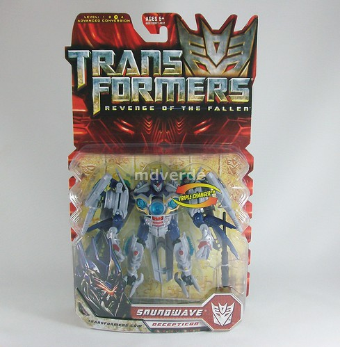 Transformers Soundwave RotF Deluxe - caja