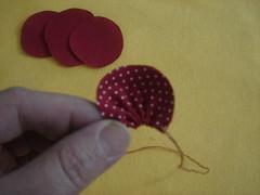 PAP - Fuxico flor pétala aberta 4 (Minhas Crias) Tags: flores artesanato fuxico pap tecido retalho trabalhosmanuais passoapasso floraberta