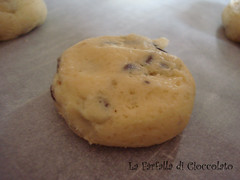 Chocolate Chips Cookies- Pallina da infornare