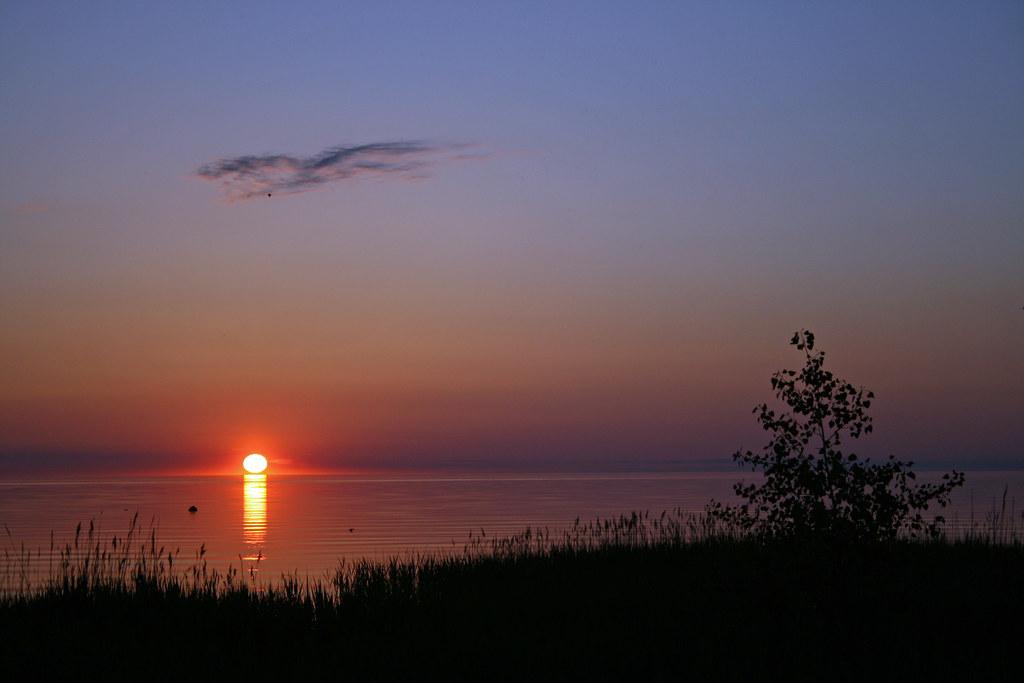 Kettle Point sunset