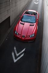 SLR disappearing... ([ JR ]) Tags: red paris slr rouge mercedes s exotic mclaren ritz supercar qatar vendome 722 althani 722s fialeix