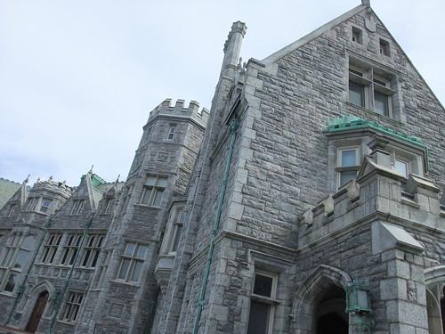 UConn campus is castlelike