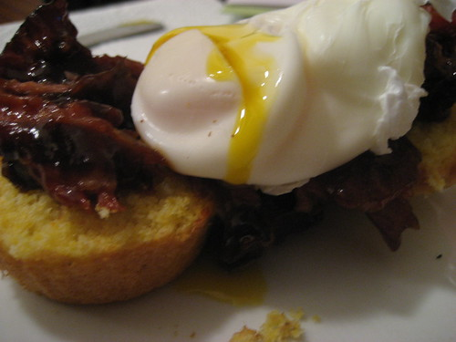 Asian Ribs Eggs Benedict