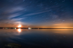 K20D0515 (Bob West) Tags: longexposure nightphotography moon ontario moonrise moonlight nightshots startrails southwestontario bobwest rondeaubay k20d pentax1224