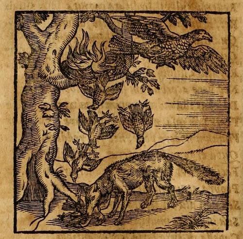 Vulpes et Aquila