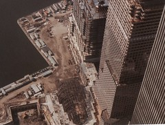 VIEW FROM WTC IN 1985 (richie 59) Tags: city nyc newyorkcity urban usa ny film america 35mm buildings outside us photo spring unitedstates manhattan steel thecity batterypark 35mmfilm highrise oldphoto
