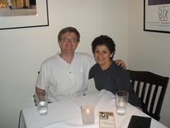 Dinner at Celedon (Roger Allan Delott) Tags: vacation tina roger delott