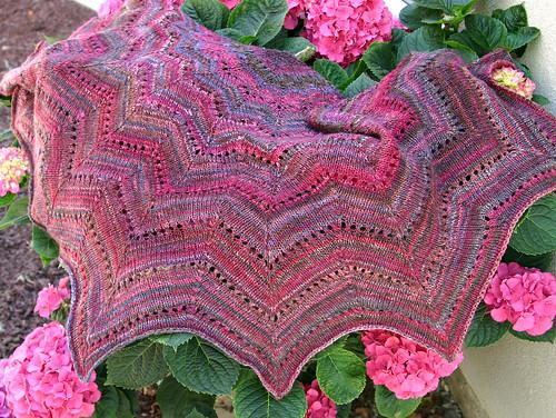 revontuli shawl, FO