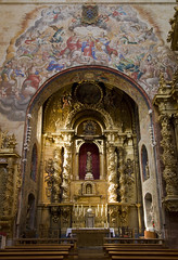 Porta Caeli (Lawrence OP) Tags: lady gold spain mural dominican mary chapel virgin convento salamanca baroque convent coronation sanesteban friars dominicos frailes