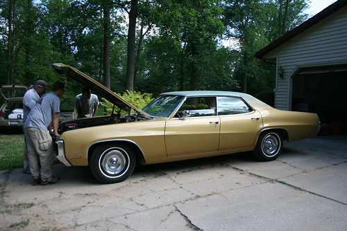 The Gold Buick