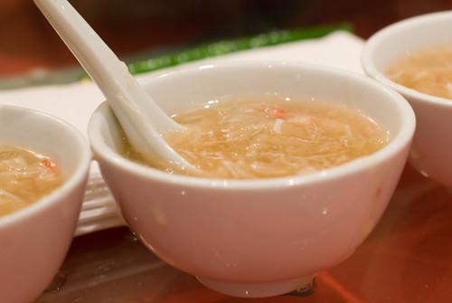 Shark Fin Crab Roe Soup