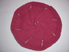 Octagonal Swirl dishcloth