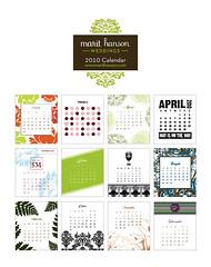 2010 MHW Desktop Calendar