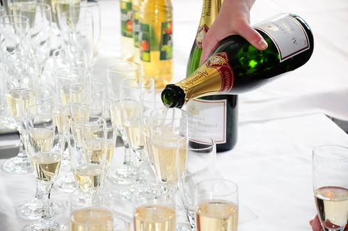 Table of Champagne