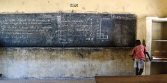 In a classroom (Olfert) Tags: africa school ada chalk science ghana integrated