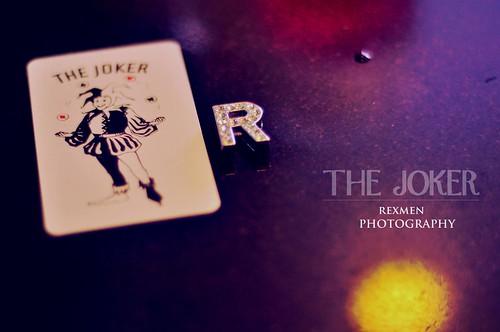 R's photo, the joker by rexmen.