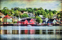 Lunenburg, Nova Scotia (sminky_pinky100 (In and Out)) Tags: blue red canada green water beautiful landscape boats fishing pretty novascotia harbour scenic historic textures charming tallships southshore lunenburg personalbest bej abigfave omot cans2s eyejewel betterthangood