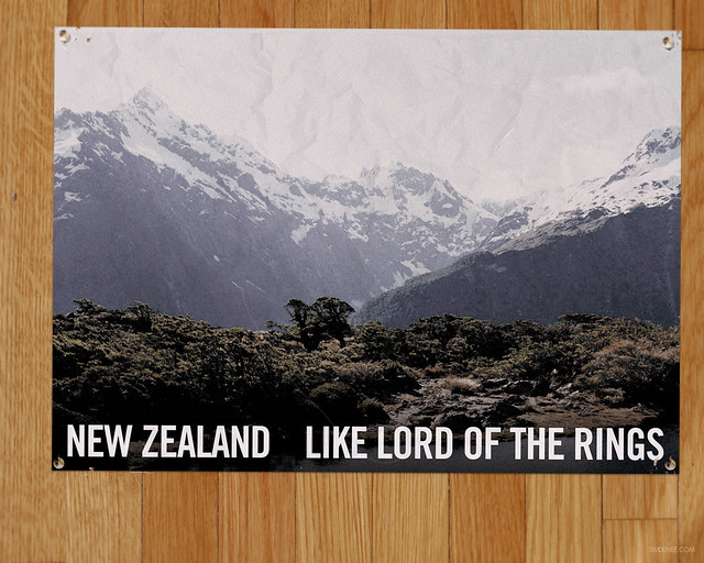 NEW ZEALAND LIKE LORD OF THE RINGS