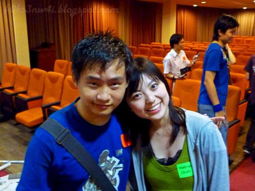 Marina and I
