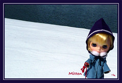 Mitten in the March Snow