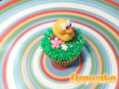 my First Ducky ({ Qupcake }) Tags: cute colors sweet cupcake        qupcake