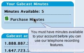 Gabcast minutes