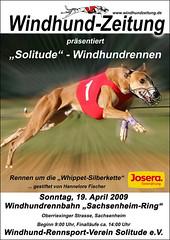 Solitude Rennen 2009 Sachsenheim Plakat-Angelo