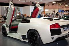 Lamborghini,.. (D3 Photography) Tags: show white car nikon sigma melbourne international exotic quick 2009 d3 50mmf14