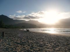 On the beach (_Cherish_) Tags: beach kauai hanaleibay