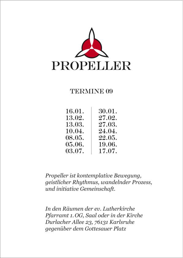 Propeller // gestaltet von Denis Holzmüller