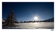 sunrise (Monika Ostermann) Tags: morning blue vacation sky sun snow ski mountains sunrise switzerland monikaostermann