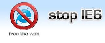 Stop IE 6