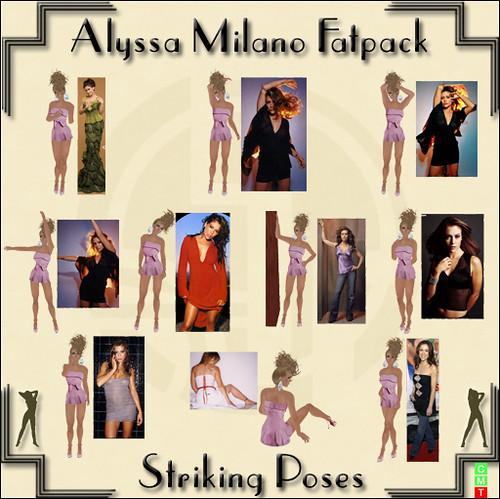 Alyssa Milano Fatpack