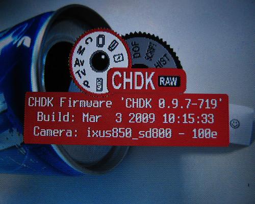 The CHDK