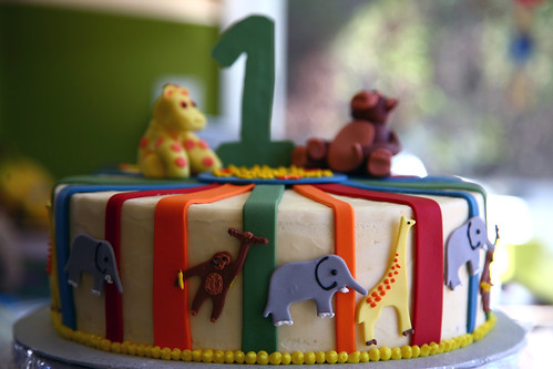 Dylan's Jungle Cake close up