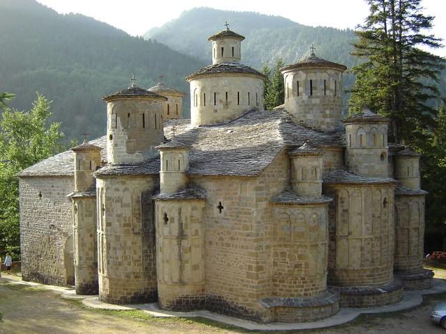 Θεσσαλία - Τρίκαλα - Κοινότητα Ασπροποτάμου Η μονή του Τιμίου Σταυρού (Δολιανά-Κρανιά)
