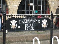Hampstead Road Lock (Soozy) Tags: london canal lock camden regentscanal hampsteadroadlock