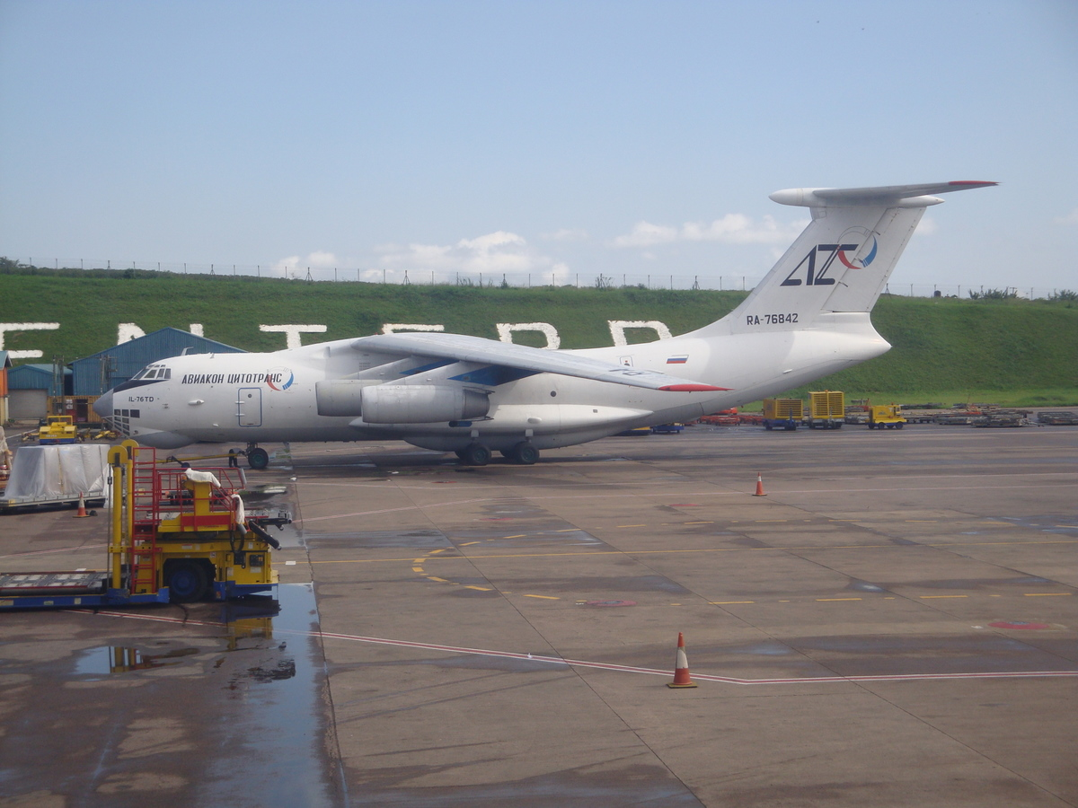 IL-76 at Entebbe AP
