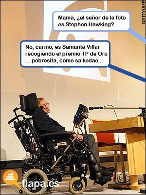 ¿Stephen Hawking?
